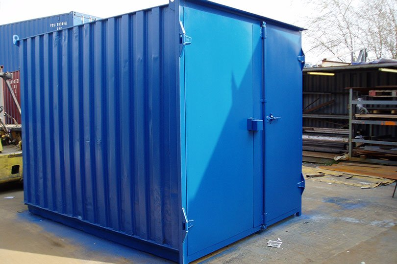 Shipping Container Modification