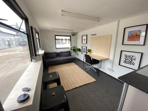 Shipping container business ideas - co-working office idea
