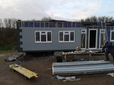 50 x13ft with external cladding_
